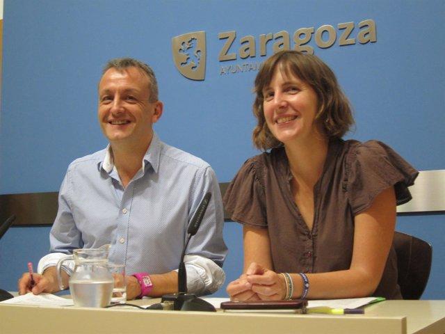 Fernando Rivarés y Teresa Artigas