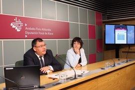 La Diputación de Álava lanza una aplicación para dispositivos electrónicos sobre el transporte foral
