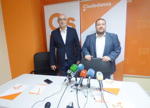 Félix Álvarez y Rubén Gómez, de Cs