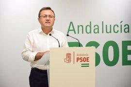 """PSOE a Moreno: """"Que aclare si está de palmero de Rajoy o con Andalucía"""" en objetivo de déficit y financiación autonómica"""