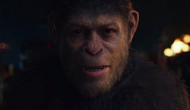 Andy Serkis en 'La Guerra del Planeta de los Simios'