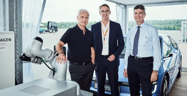 Acuerdo entre Volkswagen y Kuka