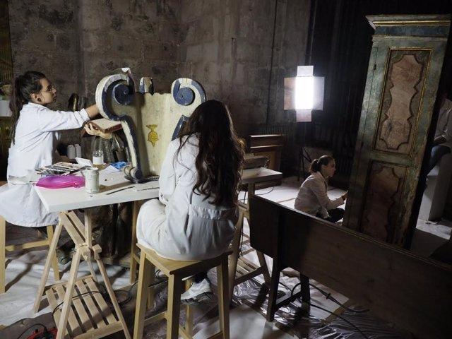Valladolid. Escuela taller de la catedral