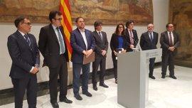 """Puigdemont: """"Estamos listos para asumir los impuestos que pasan por la hacienda española"""""""