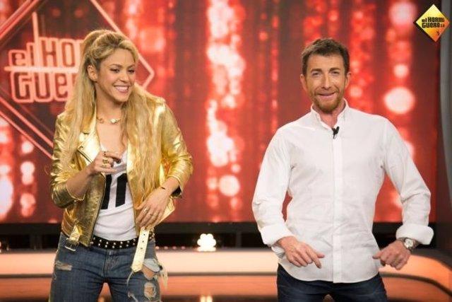 Shakira y Pablo Motos