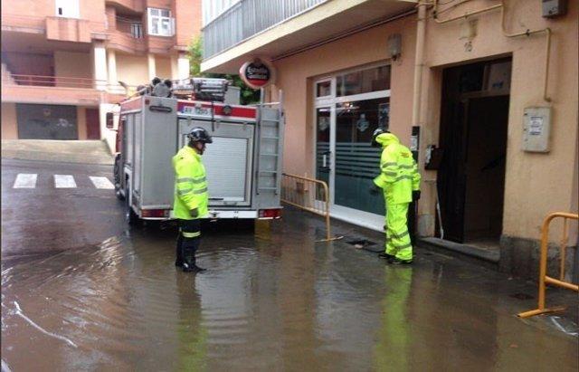 Ávila.- Intervención de los bomberos en Ávila