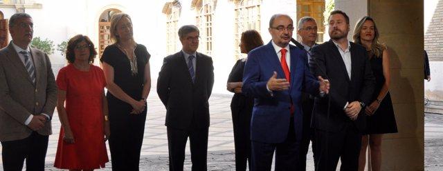 José Luis Soro ha hecho balance del ecuador de la legislatura.