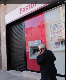 Una sucursal del Banco Pastor