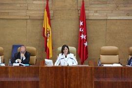 """PP carga contra Podemos después de que Iglesias y Ruiz-Huerta llamaran """"orca desencajada"""" a la presidenta de la Asamblea"""
