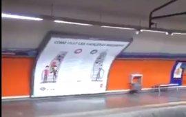 Las obras de la línea 5 de Metro no se han visto afectadas por la tromba de agua de ayer, que inundó Marqués de Vadillo