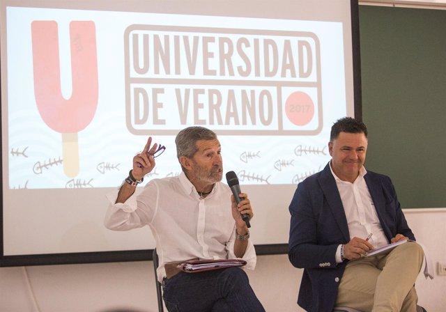 Julio Rodríguez y Juan Antonio Delgado, de Podemos