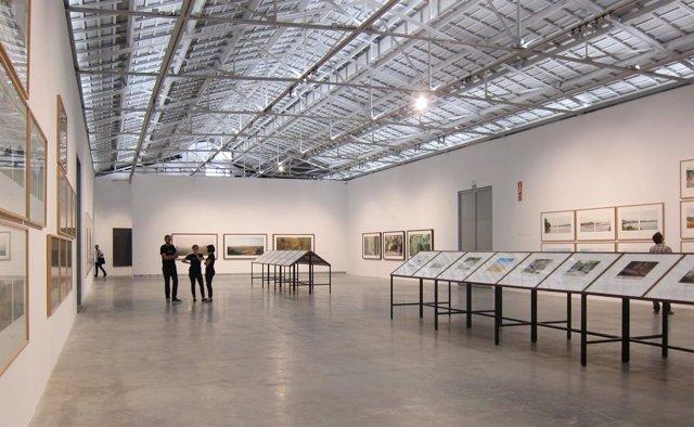 Sala de exposiciones de Bombas Gens con su primera exposición