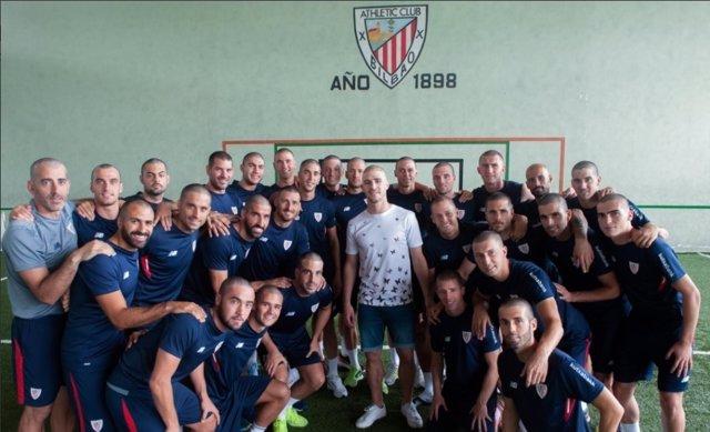Athletic apoyo Yeray Álvarez
