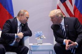 """Trump espera """"cosas muy buenas"""" de la relación bilateral tras su reunión con Putin"""