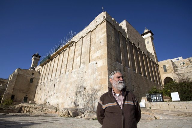 David Wilder, a spoTumba de los Patriarcas de Hebron