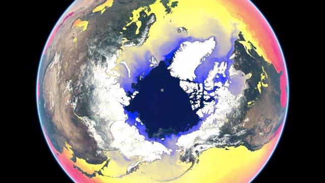 Imagen del vídeo de temperatura del mar