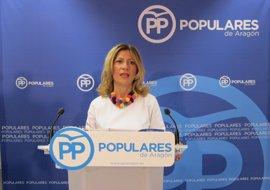 """Vaquero (PP) dice Lambán condena a Aragón, con su """"conformismo"""", a estar por debajo de sus posibilidades"""