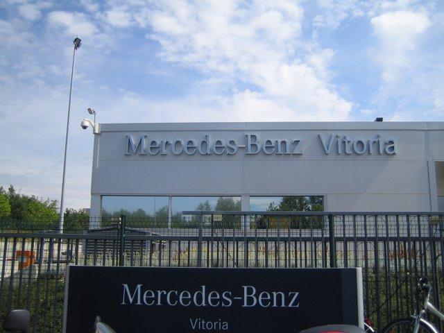 La planta de mercedes Benz en vitoria