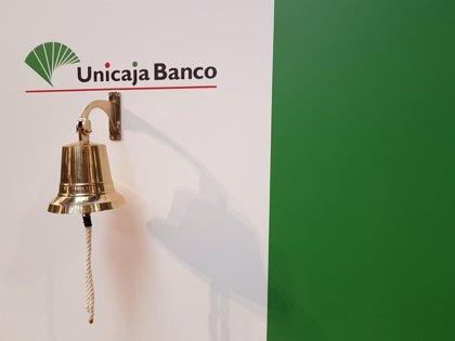 Unicaja cierra su primera semana en Bolsa con una subida del 14,5%, en 1,26 euros