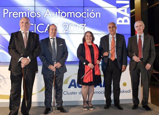 Entrega de los Premios Automoción ACICAE 2017