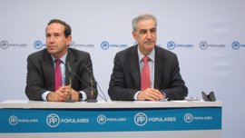 """Barreda (PP) valora la """"disposición"""" del  PNV a aprobar el techo de gasto"""