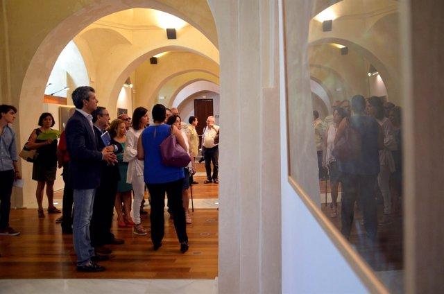La exposición en el Castillo de San Romualdo