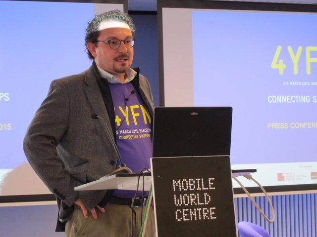 Aleix Valls, responsable de 4YFN