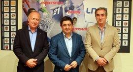 Diputación presenta el proyecto del Olivo Arena en la Liga Nacional de Fútbol Sala