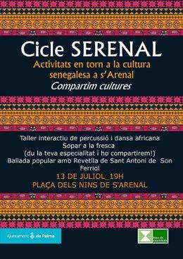 Cartel del Ciclo 'Serenal'