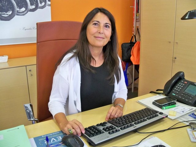 La directora de Trànsit Eugenia Doménech