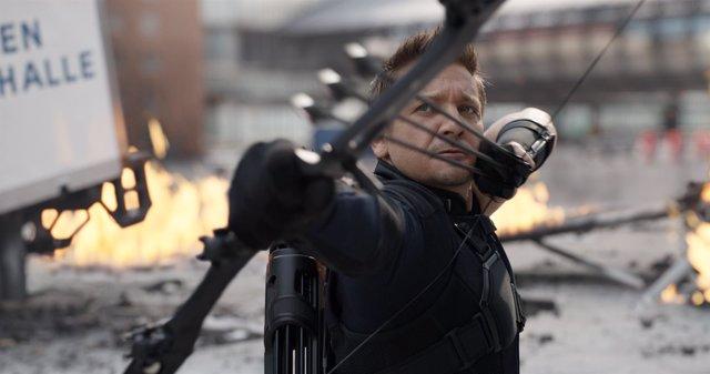 Jeremy Renner en Capitán América: Civil War