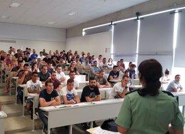 Un total de 2.522 aspirantes participan en Murcia en la oposición de la Escala de Cabos y Guardias de Guardia Civil
