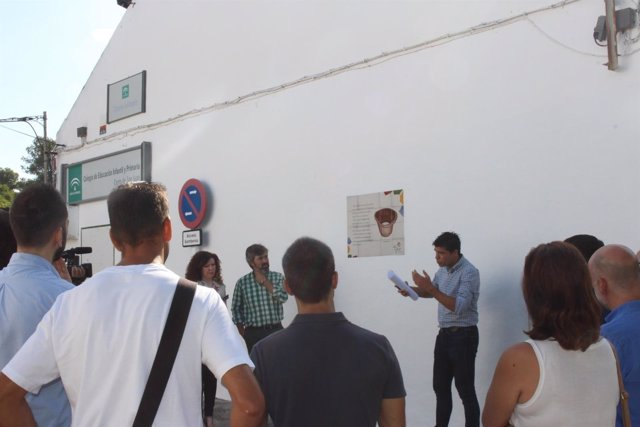 Inauguración de la Ruta Blas Infante en Coria del Río.