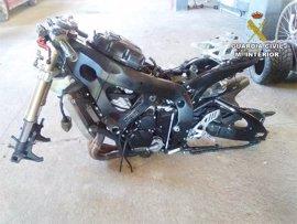 Detenido un hombre por conducir a 226km/h y fingir después el robo de su moto en Mallorca