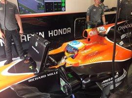 Alonso vuelve a la unidad de potencia anterior por problemas en su evolución