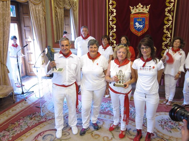 La Pirotecnia Vulcano gana el concurso de fuegos artificiales Sanfermines 2016.
