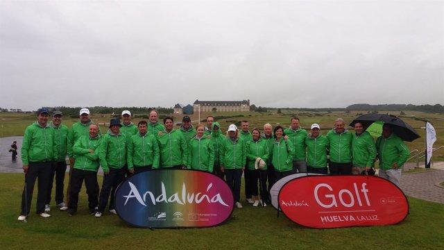 Torneo de golf en Escocia