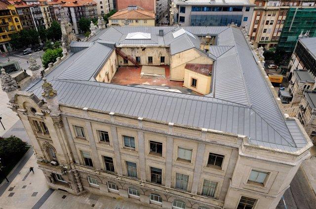 Ayuntamiento de Santander rehabilitado