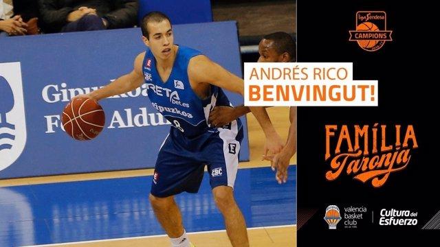 Andrés Rico Valencia Basket