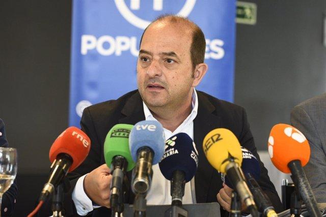 Portavoz del PP en el Ayuntamiento de LPGC, Juan José Cardona