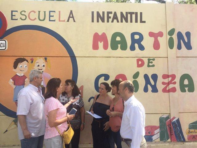 PP pide el arreglo de la cubierta del Martín de Gainza