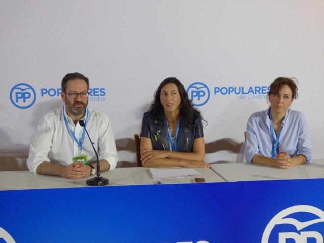 La dirigente popular, Loles López