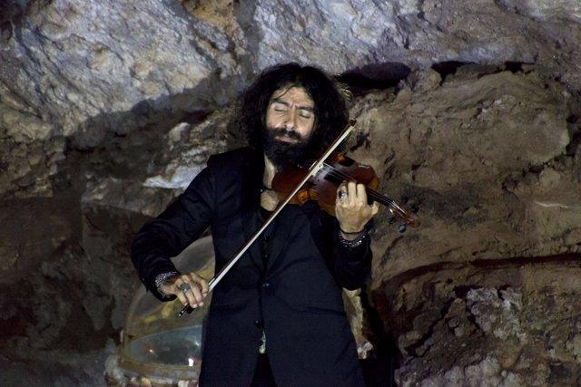 Ara Malikian en El Soplao