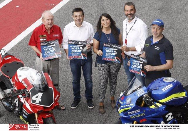 Campaña vial 'La carretera no és el circuit'