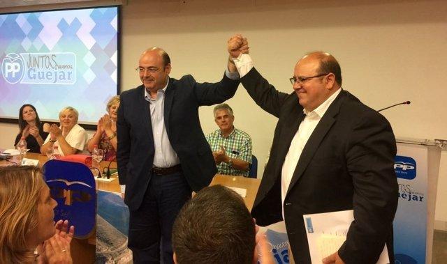 Sebastián Pérez y José Robles