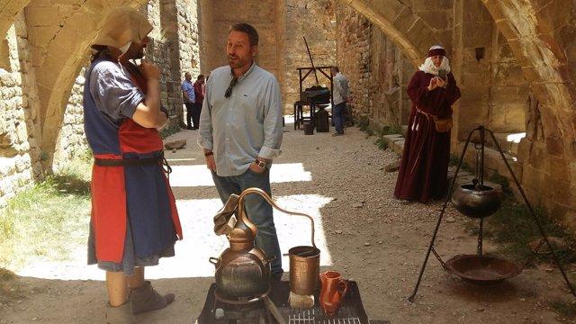 Soro ha asistido hoy al II Encuentro de Recreación Medieval de Loarre