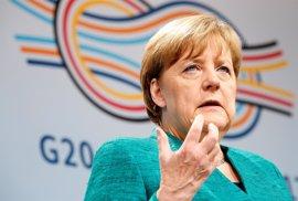 Merkel se muestra satisfecha por la defensa del clima de 19 miembros del G20 y señala así a EEUU