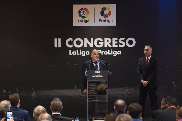 II Congreso Proliga-Laliga con Javier Tebas