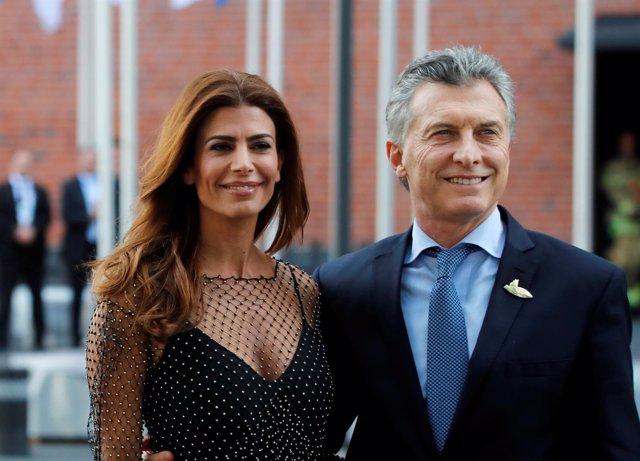 Mauricio Macri y su mujer Juliana Awada en el G20