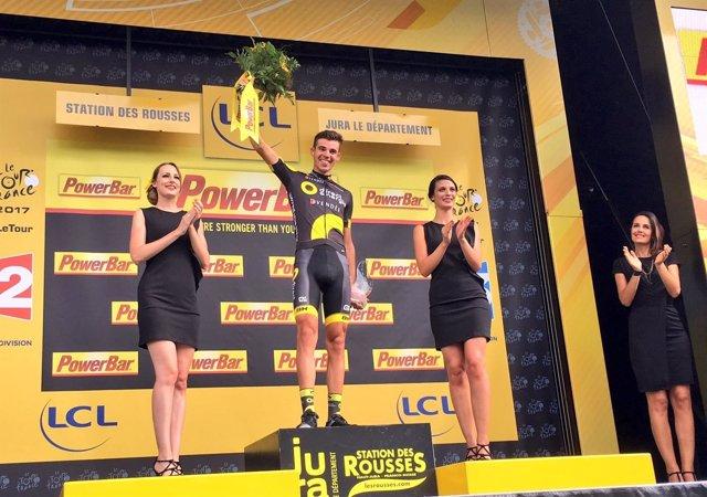 El ciclista francés Lilian Calmejane